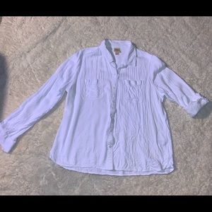 Mossimo XXLg button up top.
